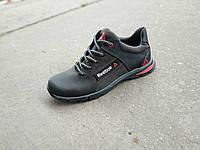 Подростковые детские кожаные кроссовки 36 - 39 р-р, фото 1