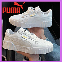 Женские кроссовки Puma Cali White/Белые