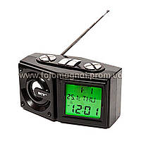 Часы сетевые NN 786, радио FM, USB, SD(электронные цифровые часы)