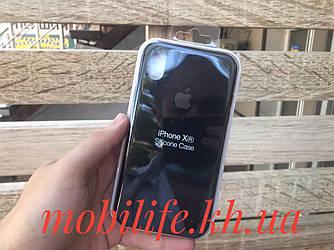 Чехол Silicon Case Original Apple iPhone XR/Черный/Высокое Качество/