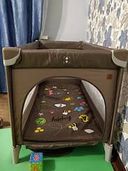 Манеж-кровать CARRELLO Piccolo CRL-92031 Chocolate Brown