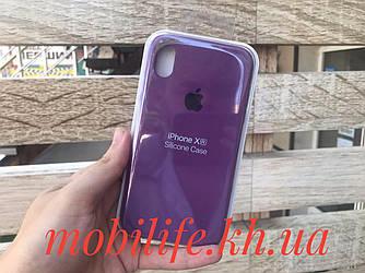 Чехол Silicon Case Original Apple iPhone XR/Фиолетовый/Высокое Качество/