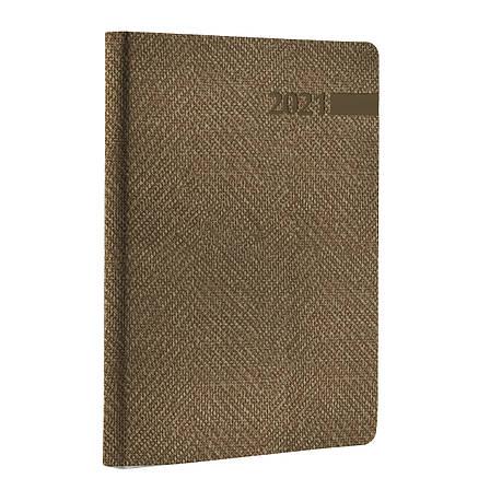 """Ежедневник А5 дат. Leo Planner """"Boss"""", 2021, мягк., 352+2 стр., бежевый                   , фото 2"""