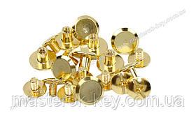 Гвинт ремінною 10*6мм колір Золото