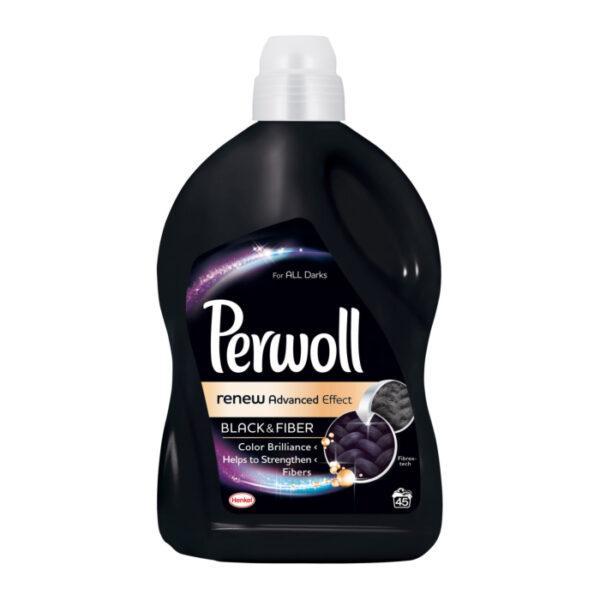 Средство для деликатной стирки Perwoll -восстановления цвета темных и черных вещей 2.7 л