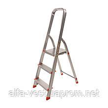 Стрем'янка алюмінієва Laddermaster Alcor A1A3. 3 сходинки