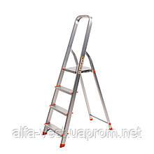 Стрем'янка алюмінієва Laddermaster Alcor A1A4. 4 сходинки