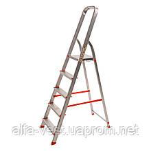 Стрем'янка алюмінієва Laddermaster Alcor A1A5. 5 сходинок