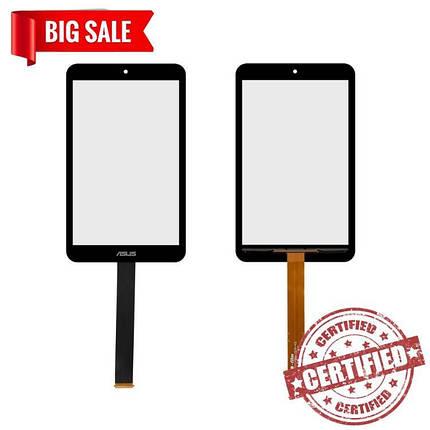 Сенсорний екран для планшетів Asus MeMO Pad 8 ME181C, MeMO Pad 8 ME181CX, чорний, фото 2