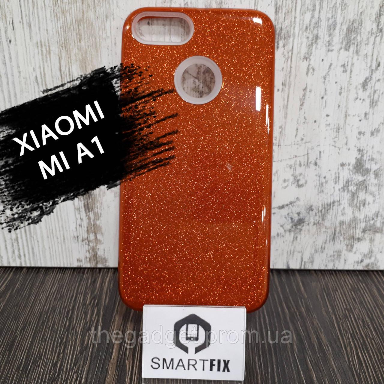 Блискучий чохол для Xiaomi Mi A1 Червоний