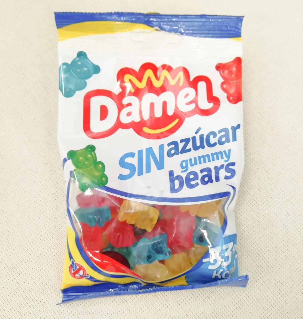 Damel gummy bears no sugar 100 gramm