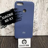 Силиконовый чехол для Xiaomi Mi A1 Синий, фото 1