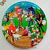 "Картонна тарілка Соник - ""Sonic Plate"" - 18 х 18 см"