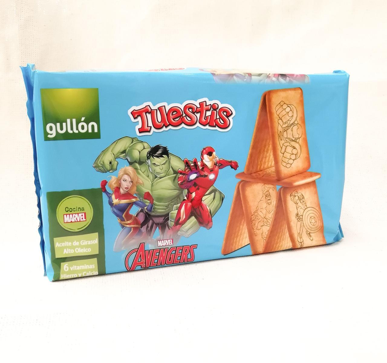 Печенье для детей Gullon Tuestis Avengers 400 gramm