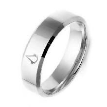Серебристые кольца