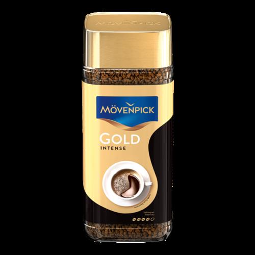 Розчинна кава Movenpick Gold Intense сублімований 200 г у скляній банці