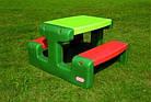 Детский пикниковый игровой столик Little Tikes 479А (дитячий ігровий пікніковий столик з стільцями), фото 2