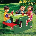 Детский пикниковый игровой столик Little Tikes 479А (дитячий ігровий пікніковий столик з стільцями), фото 3