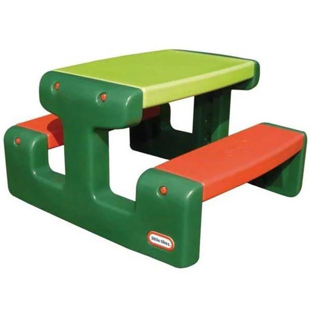 Детский пикниковый игровой столик Little Tikes 479А (дитячий ігровий пікніковий столик з стільцями)