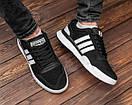 Замшевые мужские кроссовки Adidas, три цвета, фото 4