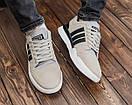 Замшевые мужские кроссовки Adidas, три цвета, фото 10