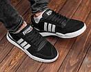 Замшевые мужские кроссовки Adidas, три цвета, фото 2