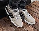 Замшевые мужские кроссовки Adidas, три цвета, фото 8