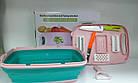 Овочерізка мультислайсер 9 в 1 складна, овочерізка, Multifunctionalslicer abd Planing wire slicer, фото 7