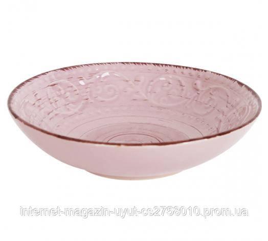 Набор 6 суповых тарелок Antique Pink Ø19см