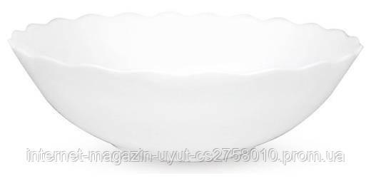 Набір 6 салатників White Waves Ø17.5см (630мл), склокераміка
