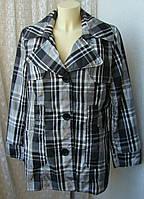 Плащ женский куртка легкая батал бренд Soю New York р.52 3744