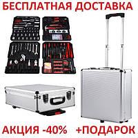 Набор инструментов 399 предметов Swiss Kraft Exclusive 399 pcs профессиональный для автомобиля 2434460