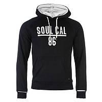 Реглан мужской SoulCal&Co Cuff Over Head черный, фото 1