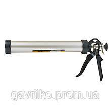 Пистолет для герметиков 375мм 610мл (алюминиевая туба) SIGMA (2723071)