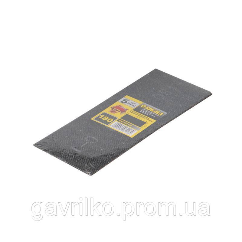 Сетки абразивные 5шт. 115×280мм (зерно 220) SIGMA (9162201)