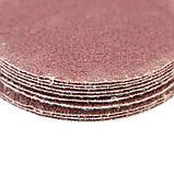 Шлифовальный круг без отверстий Ø50мм P80 (10шт) SIGMA (9120451), фото 4