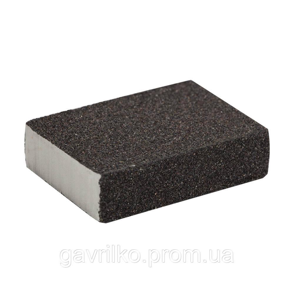 Губка шлифовальная четырехсторонняя 100×70×25мм P40 SIGMA (9130631)