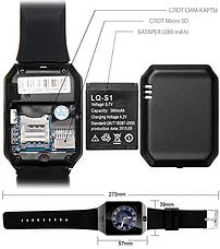 LQ-S1 380mAh Батарея Аккумулятор для смарт часов QW09/A1/GT08/DZ09 NEW (10153), фото 2