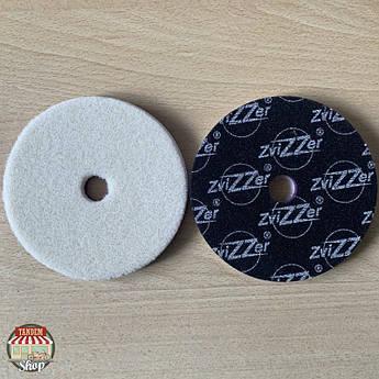 Полірувальний круг вовняної ZviZZer Doodle, 135 мм x 15 мм x 135 мм Білий