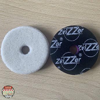 Полірувальний круг вовняної ZviZZer Doodle, 80 мм x 15 мм x 80 мм Білий