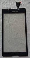 Sony Xperia C S39h C2304 C2305 сенсорний екран, тачскрін чорний