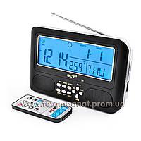 Радио часы  NN 785, радио FM, USB, SD (электронные цифровые часы)