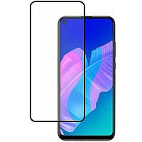 Защитное стекло для Huawei P40 Lite E на весь экран 5д стекло на телефон хуавей п40 лайт е черное NFD