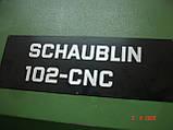 Станок токарный с ЧПУ SCHAUBLIN 102CNC в рабочем состоянии, фото 6