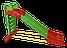 Горка Doloni большая коричневая (014550/12), фото 4