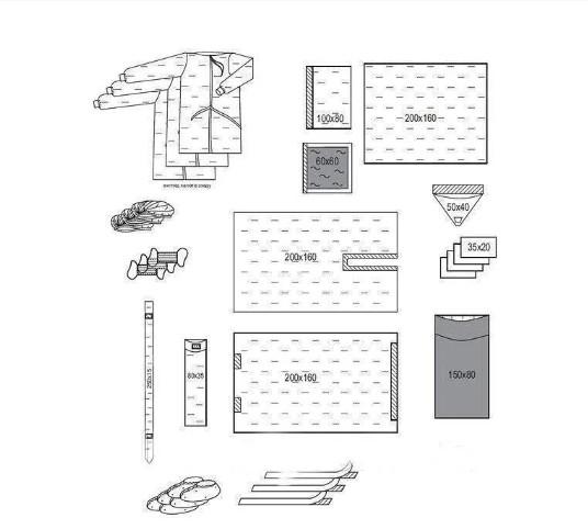 Комплект одежды и покрытий для артроскопии №1/Б «Славна®» стерильный