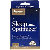 Комплекс для Хорошего Сна, Sleep Optimizer, Jarrow Formulas, 30 капсул
