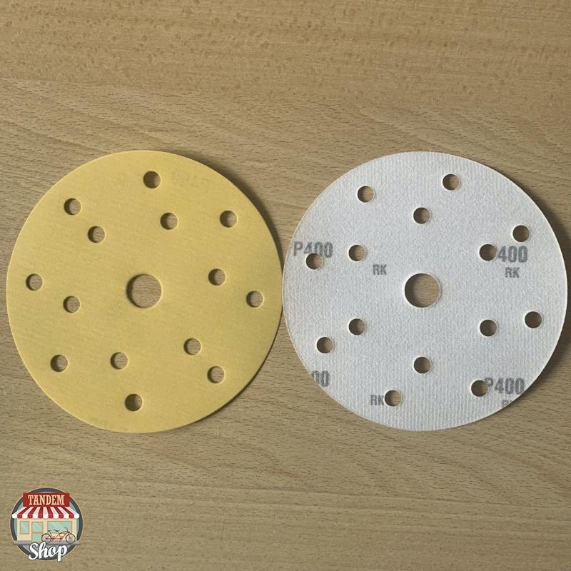 Круг шлифовальный абразивный Adi Upp, 150 мм 15 отверстий (P80-P400)