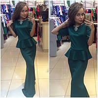 Женское Длинное Платье ПОШИВ на заказ Р.40-54 *Разные Цвета*, фото 1