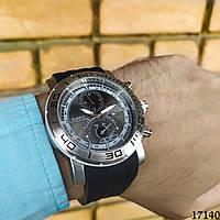 Мужские наручные часы серебристые в стиле Invicta. Годинник чоловічий